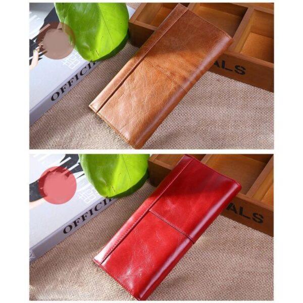 17614 - Классический женский кожаный кошелек Eleganti: натуральная кожа
