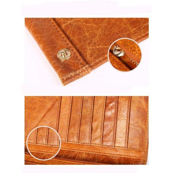 17617 - Классический женский кожаный кошелек Eleganti: натуральная кожа