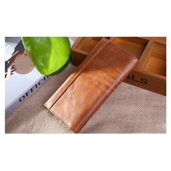 17622 - Классический женский кожаный кошелек Eleganti: натуральная кожа