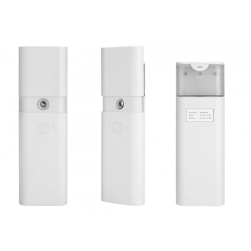 Спрей для лица + Powerbank – 10 мл, 2400 мАч, ABS-пластик 197954