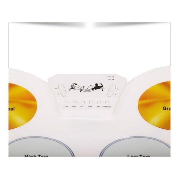 18081 - USB midi ударная установка Konix W1008 - 5 барабанов, 4 тарелки, поддержка записи и редактирования