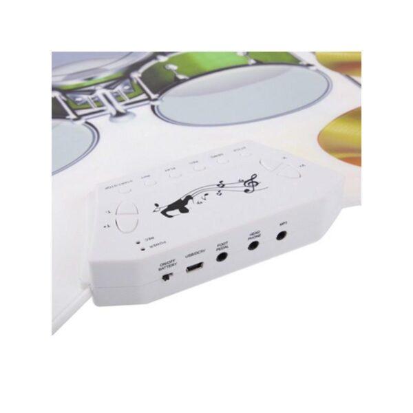 18088 - USB midi ударная установка Konix W1008 - 5 барабанов, 4 тарелки, поддержка записи и редактирования