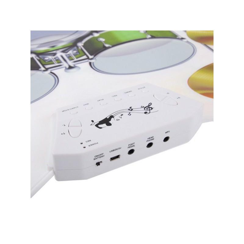 USB midi ударная установка Konix W1008 – 5 барабанов, 4 тарелки, поддержка записи и редактирования 198246