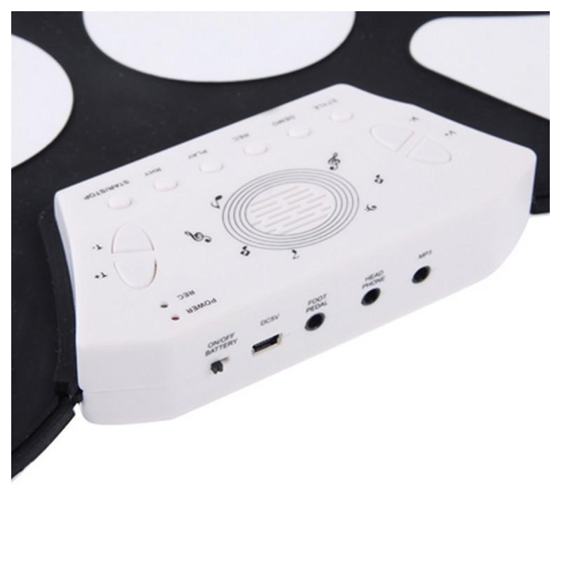 Электронная ударная midi-установка Konix W758 – 5 барабанов, 4 тарелки, USB, MP3 198255