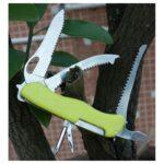 18207 thickbox default - Многофункциональный нож для выживания - флуоресцентная рукоятка, 8 в 1, сталь 9C17