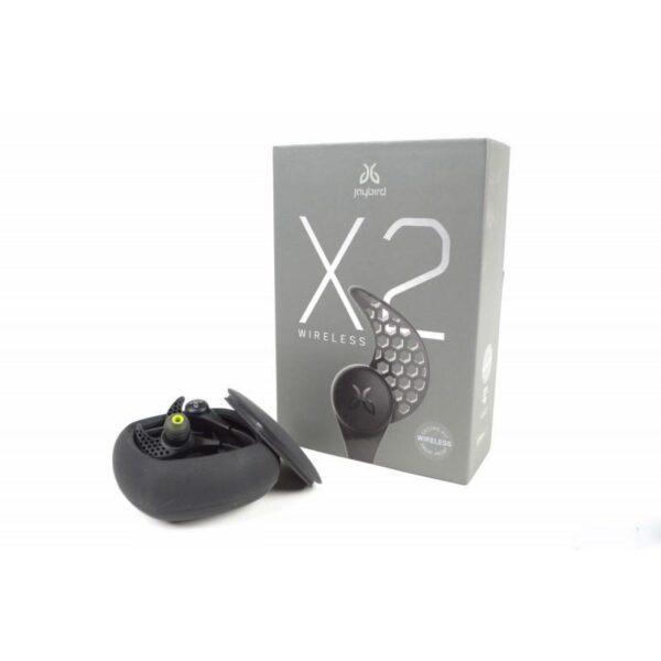 18248 - Беспроводные Bluetooth наушники-гарнитура JayBird X2: влагозащищенные, подушки из силикона и memory foam + 3 пары креплений