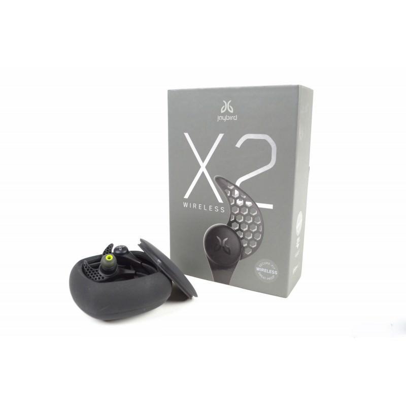 Беспроводные Bluetooth наушники-гарнитура JayBird X2: влагозащищенные, подушки из силикона и memory foam + 3 пары креплений 198387
