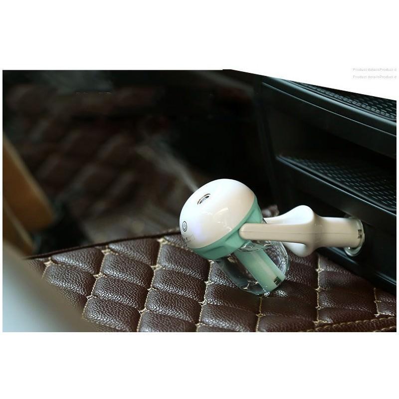 Автомобильный увлажнитель/ освежитель воздуха NanoFog: 2 режима работы, объем 50 мл, можно использовать аромамасла 198458