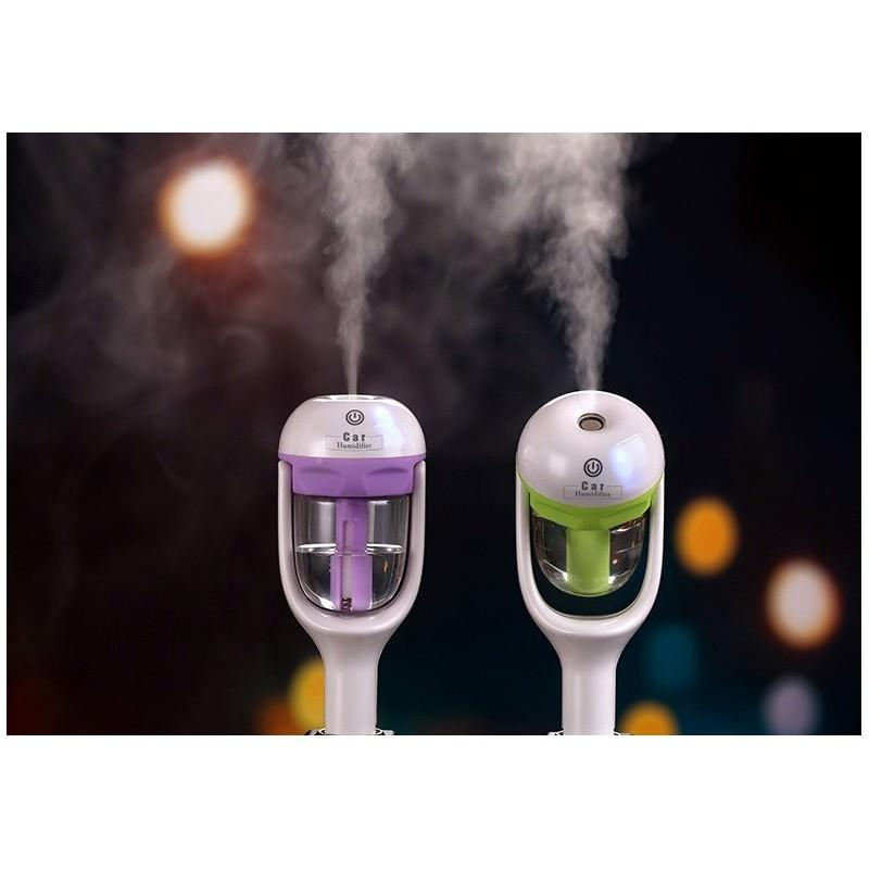 Автомобильный увлажнитель/ освежитель воздуха NanoFog: 2 режима работы, объем 50 мл, можно использовать аромамасла 198461
