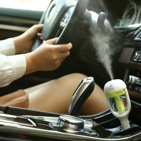 18359 - Автомобильный увлажнитель/ освежитель воздуха NanoFog: 2 режима работы, объем 50 мл, можно использовать аромамасла