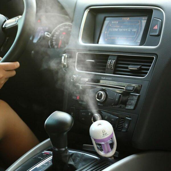 18362 - Автомобильный увлажнитель/ освежитель воздуха NanoFog: 2 режима работы, объем 50 мл, можно использовать аромамасла