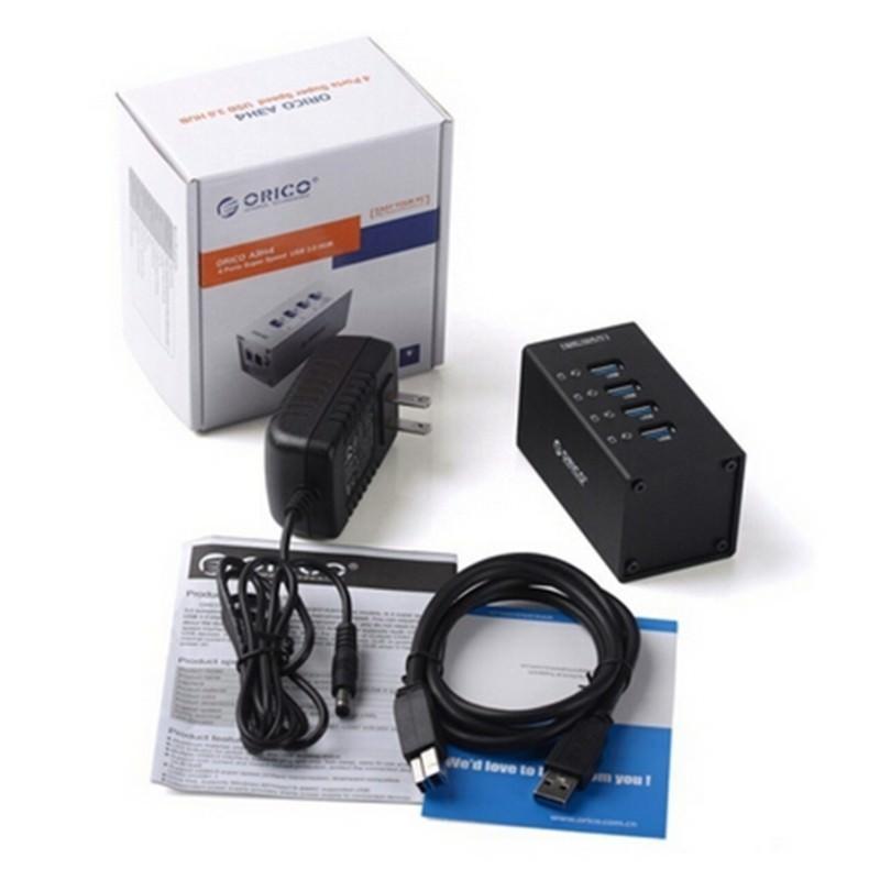 HUB на 4 USB 3.0 для ноутбука и компьютера 198506