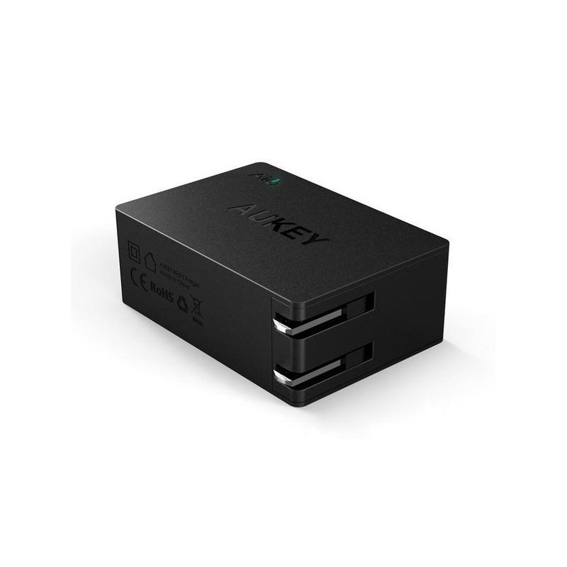 Зарядная мини-станция Aukey – 3 х USB, Quick Charge 2.0, AIPower 198555
