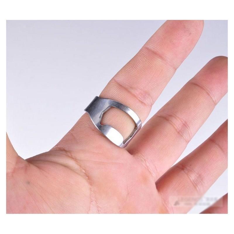Кольцо-открывалка для бутылок: нержавеющая сталь 198579