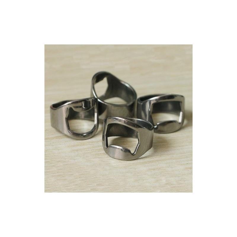 Кольцо-открывалка для бутылок: нержавеющая сталь 198580