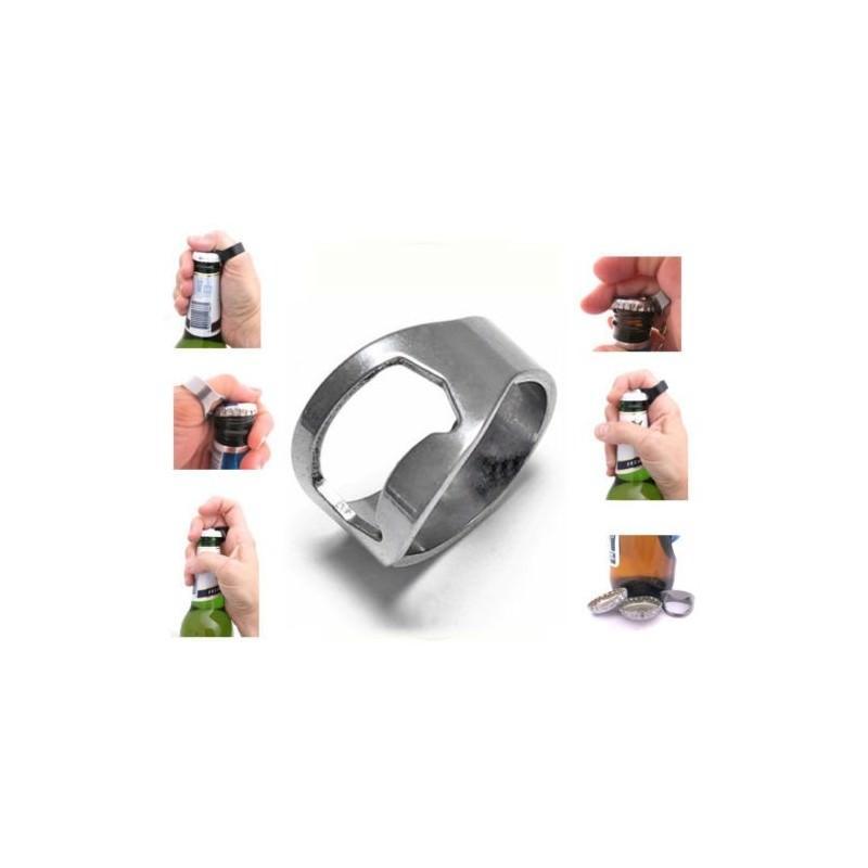 Кольцо-открывалка для бутылок: нержавеющая сталь