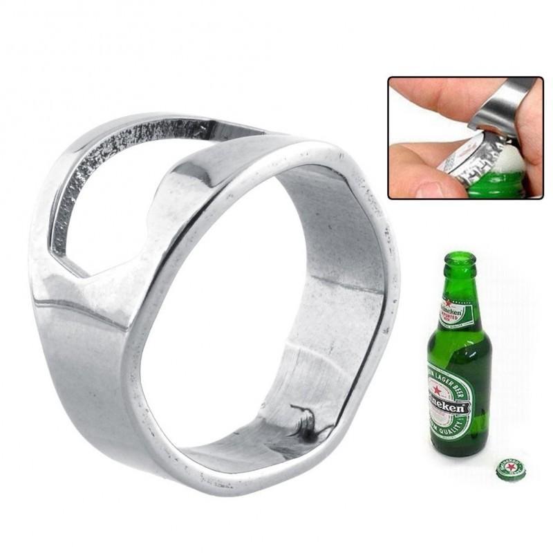 Кольцо-открывалка для бутылок: нержавеющая сталь 198584