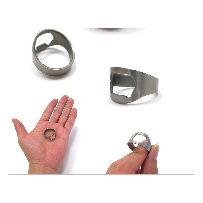 Кольцо-открывалка для бутылок: нержавеющая сталь 198585