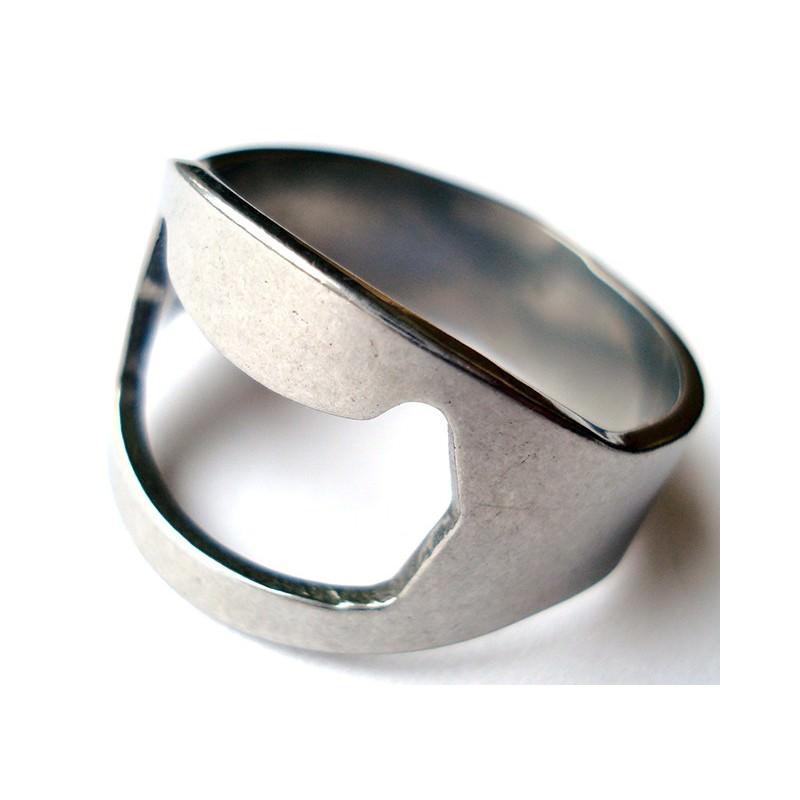 Кольцо-открывалка для бутылок: нержавеющая сталь 198587