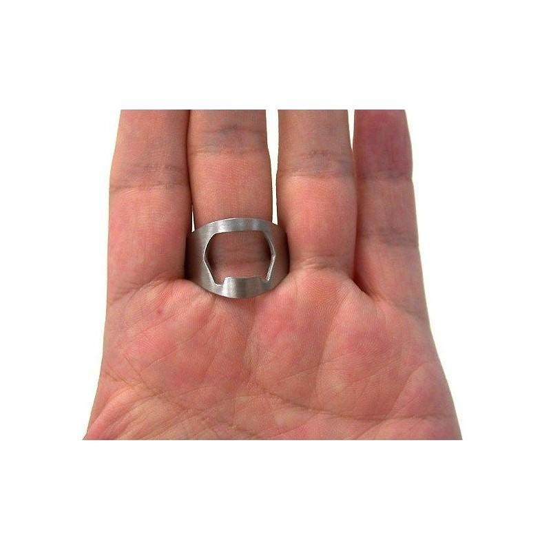 Кольцо-открывалка для бутылок: нержавеющая сталь 198588