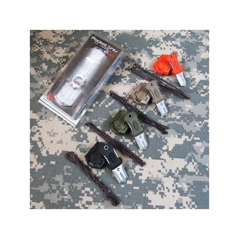 Многофункциональный EDC мини-нож для нательного, карманного ношения: сталь 440C, крепление M.O.L.L.E. 198590