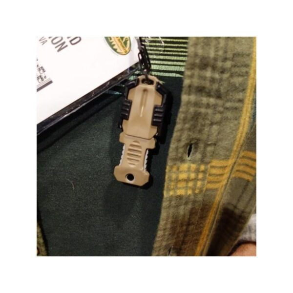 18478 - Многофункциональный EDC мини-нож для нательного, карманного ношения: сталь 440C, крепление M.O.L.L.E.