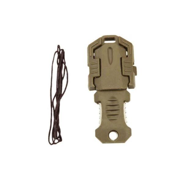 18480 - Многофункциональный EDC мини-нож для нательного, карманного ношения: сталь 440C, крепление M.O.L.L.E.