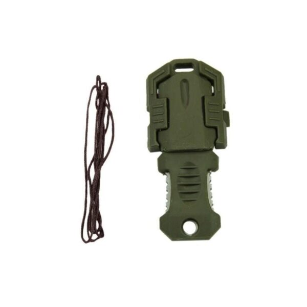 18481 - Многофункциональный EDC мини-нож для нательного, карманного ношения: сталь 440C, крепление M.O.L.L.E.
