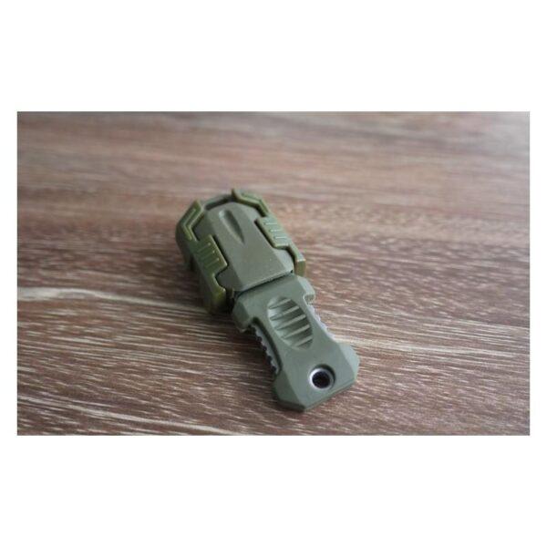 18483 - Многофункциональный EDC мини-нож для нательного, карманного ношения: сталь 440C, крепление M.O.L.L.E.