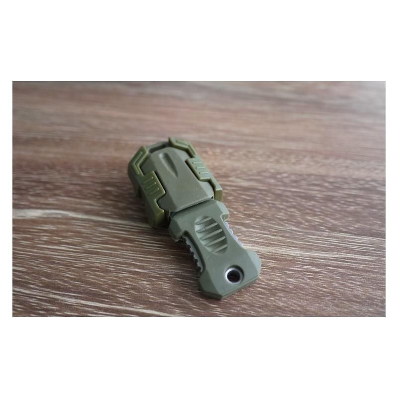 Многофункциональный EDC мини-нож для нательного, карманного ношения: сталь 440C, крепление M.O.L.L.E. 198597