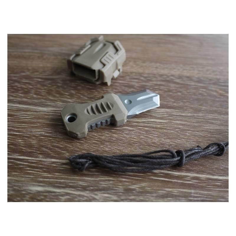 Многофункциональный EDC мини-нож для нательного, карманного ношения: сталь 440C, крепление M.O.L.L.E. 198599