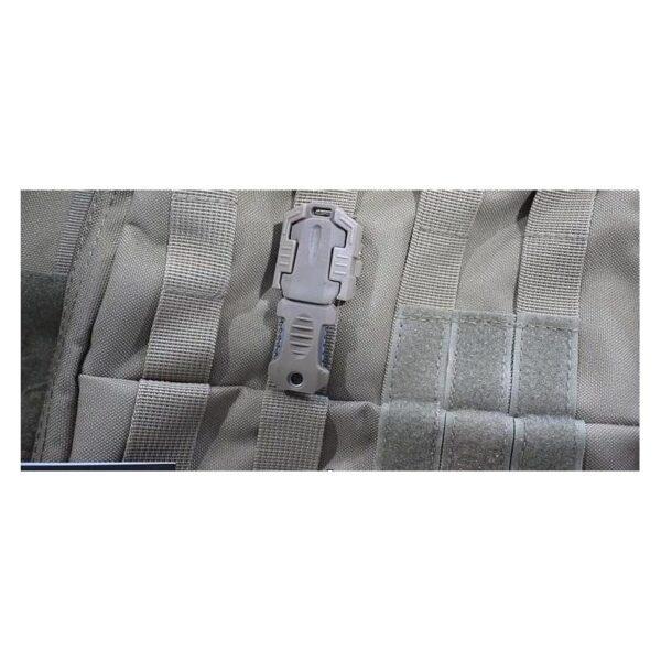 18490 - Многофункциональный EDC мини-нож для нательного, карманного ношения: сталь 440C, крепление M.O.L.L.E.