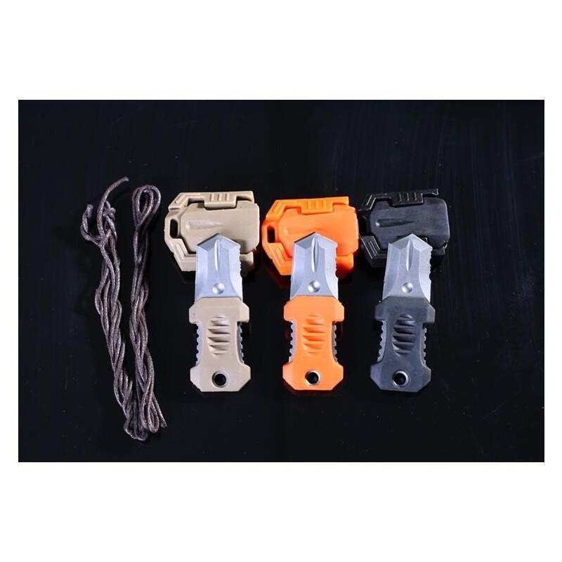 Многофункциональный EDC мини-нож для нательного, карманного ношения: сталь 440C, крепление M.O.L.L.E. 198605