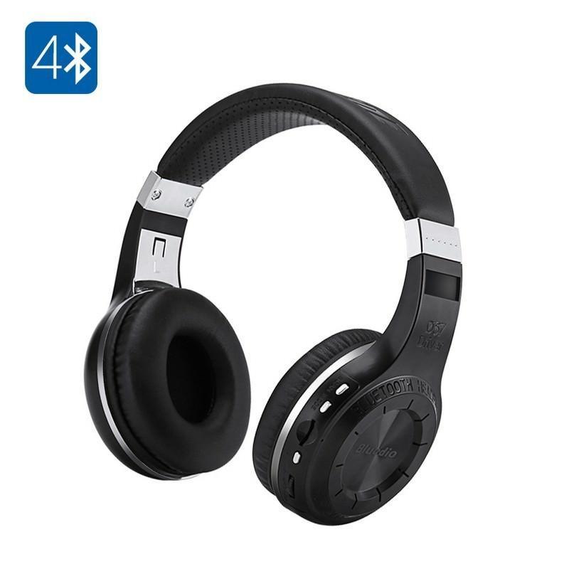 18514 - Bluetooth-наушники Bluedio H+ - Bluetooth 4.1, A2DP / AVRCP / HSP / HFP, Micro SD