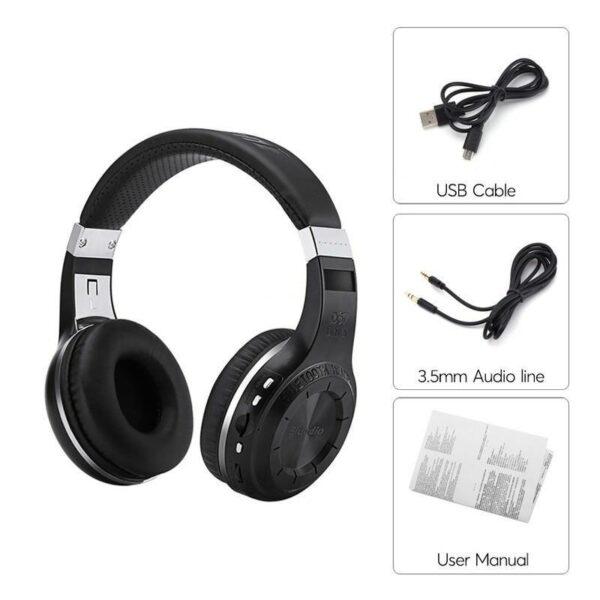 18515 - Bluetooth-наушники Bluedio H+ - Bluetooth 4.1, A2DP / AVRCP / HSP / HFP, Micro SD