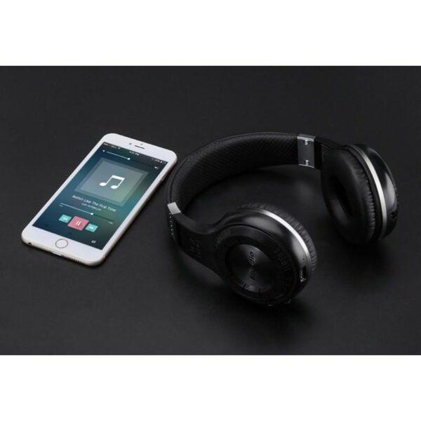 18517 - Bluetooth-наушники Bluedio H+ - Bluetooth 4.1, A2DP / AVRCP / HSP / HFP, Micro SD
