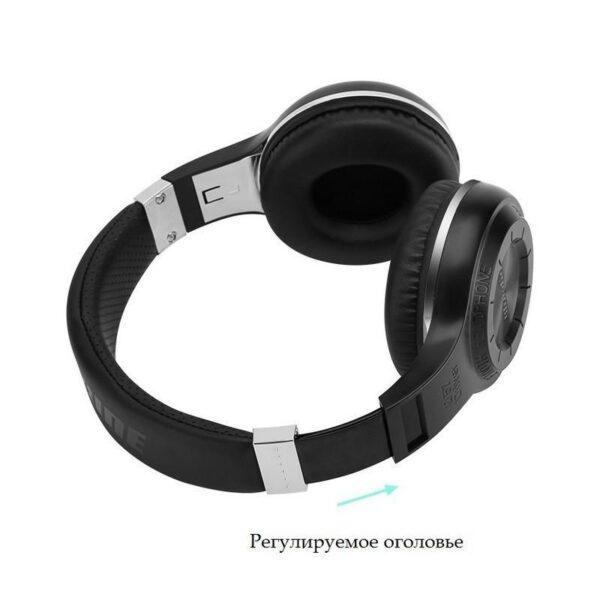 18519 - Bluetooth-наушники Bluedio H+ - Bluetooth 4.1, A2DP / AVRCP / HSP / HFP, Micro SD