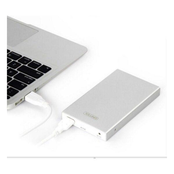 18833 - Внешний карман-кейс для жесткого диска 2,5 дюйма с USB 3.0: поддержка SATA-3, протокола UASP
