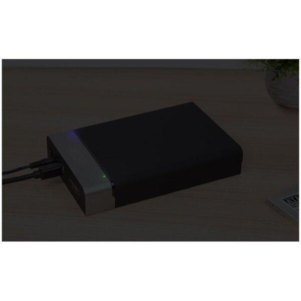 18860 - Внешний карман с USB 3.0 для 2,5/ 3,5-дюймовых жестких дисков: поддержка SATA-3, протокола UASP