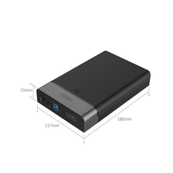 18865 - Внешний карман с USB 3.0 для 2,5/ 3,5-дюймовых жестких дисков: поддержка SATA-3, протокола UASP