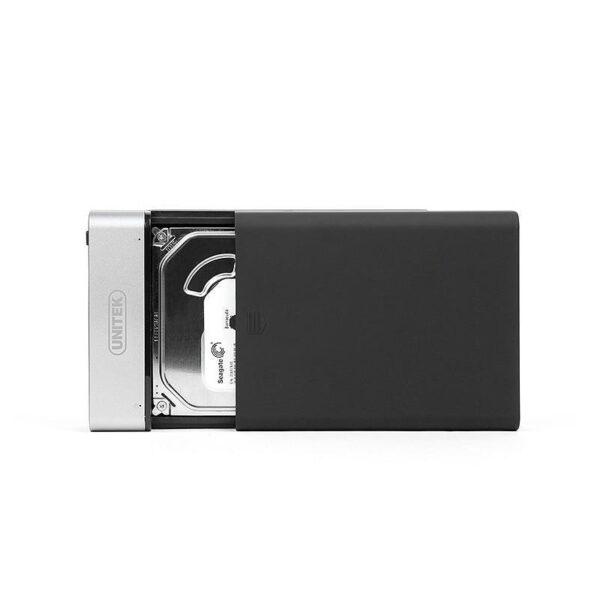 18868 - Внешний карман с USB 3.0 для 2,5/ 3,5-дюймовых жестких дисков: поддержка SATA-3, протокола UASP