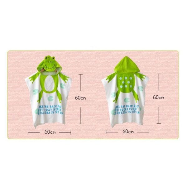 18952 - Детский халатик-полотенце: 100% хлопок