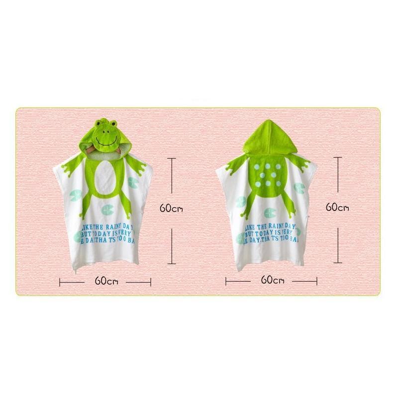 Детский халатик-полотенце: 100% хлопок 199006