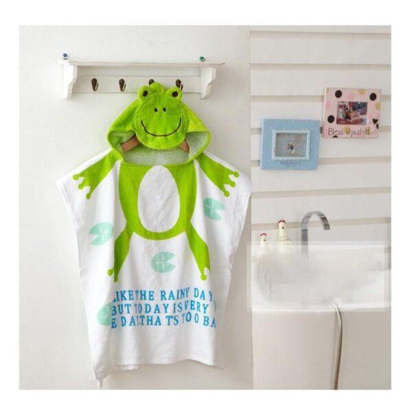 18956 - Детский халатик-полотенце: 100% хлопок
