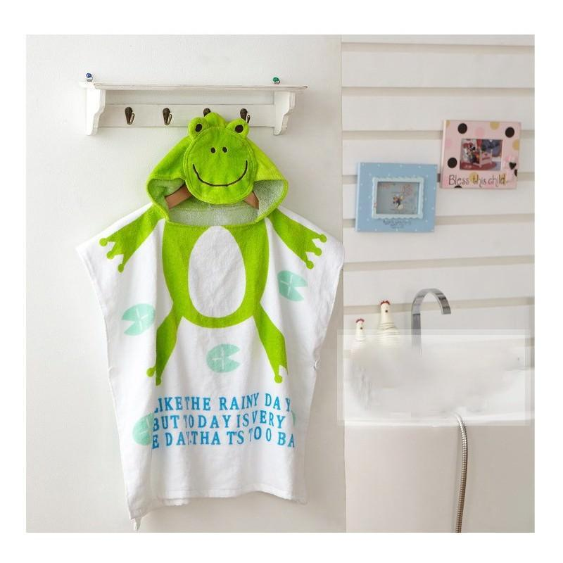 Детский халатик-полотенце: 100% хлопок 199010