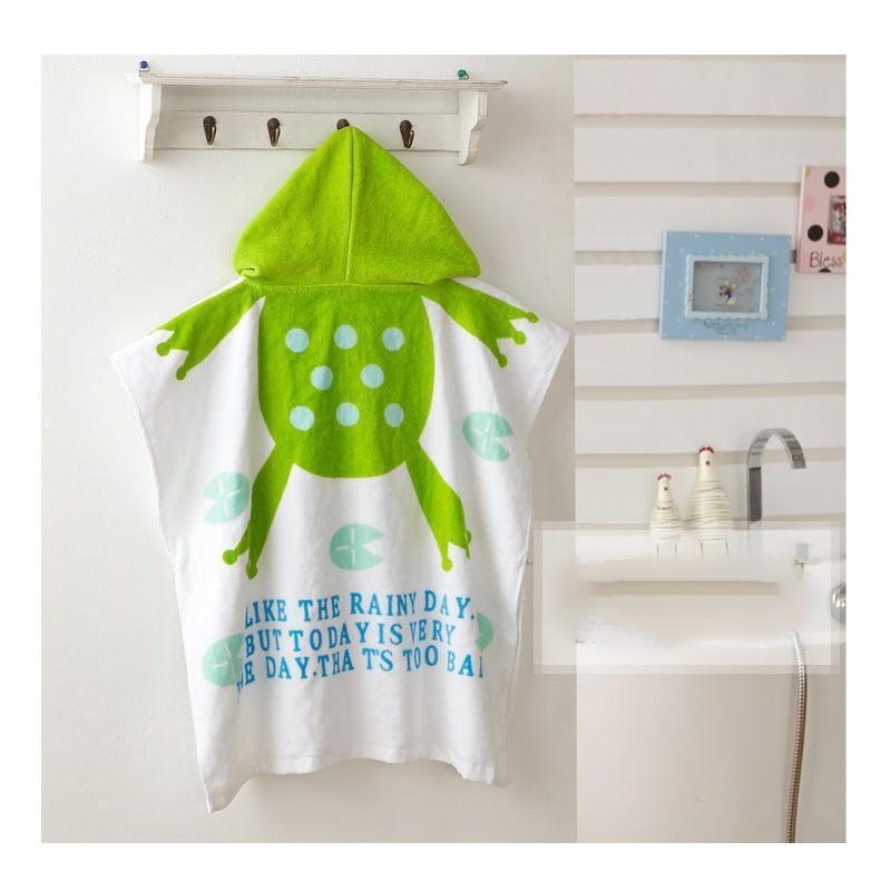 Детский халатик-полотенце: 100% хлопок 199011