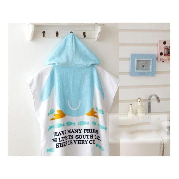 18959 - Детский халатик-полотенце: 100% хлопок