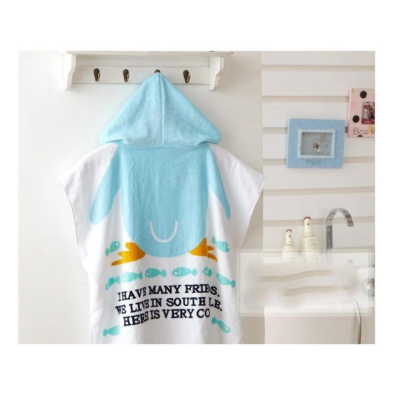 Детский халатик-полотенце: 100% хлопок 199013