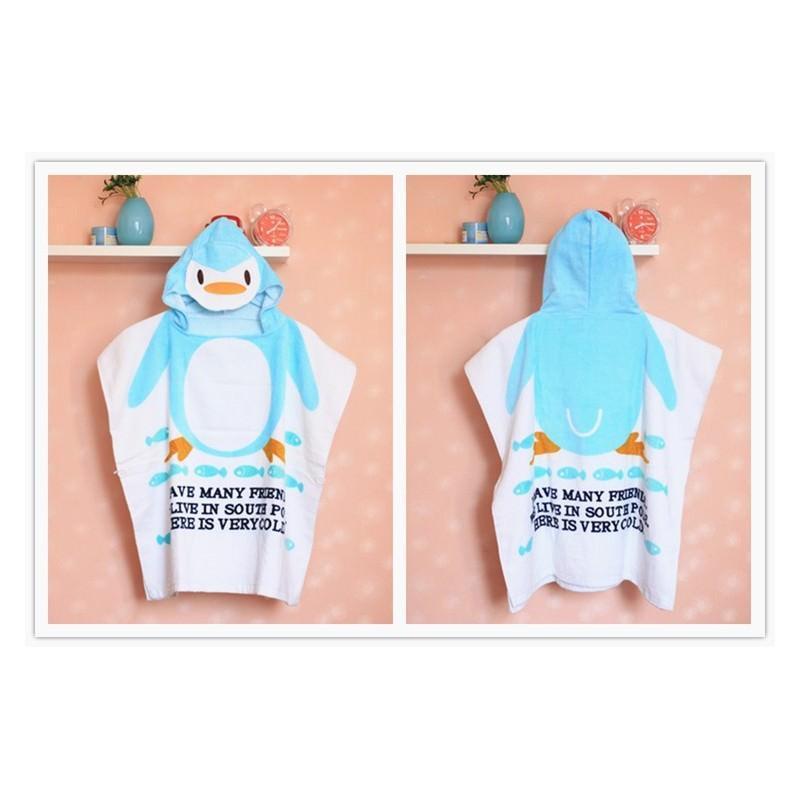 Детский халатик-полотенце: 100% хлопок 199014