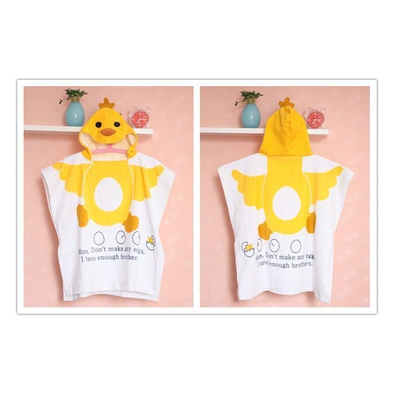 Детский халатик-полотенце: 100% хлопок 199015
